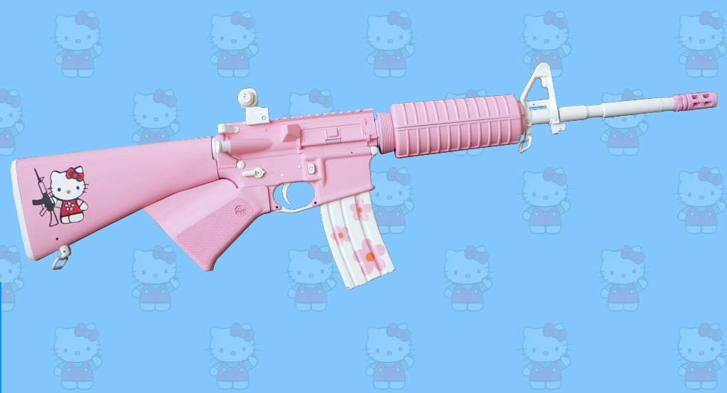 The Kitty Rifle.