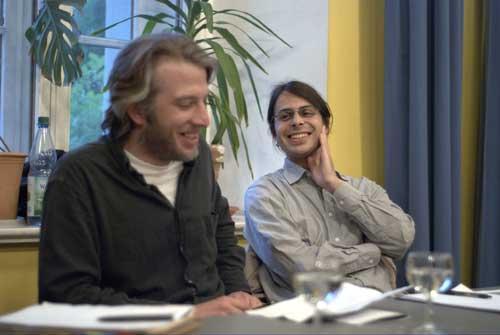 Florian Bokor und Christof Ricardo Remmert Fontes