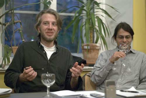 Florian Bokor und Cristof Ricardo Remmert Fontes