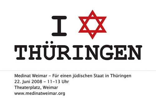Aufruf für die Demonstration für das Medinat Weimar