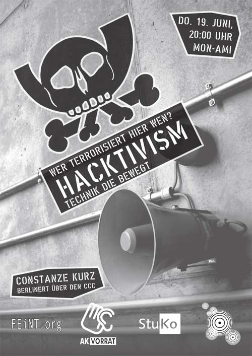 Hacktivism - Technik, die bewegt.