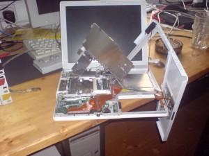 iBook mit ohne Festplatte