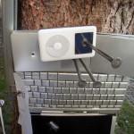 der iPod in seiner neuen Lage